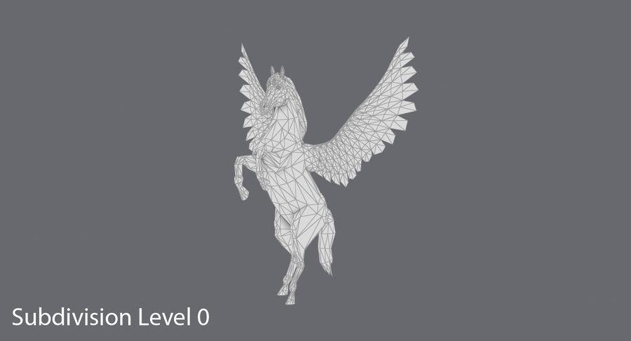 ペガサス飼育 royalty-free 3d model - Preview no. 12