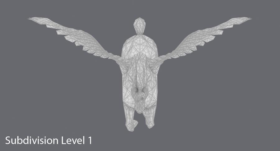 ペガサス飼育 royalty-free 3d model - Preview no. 16