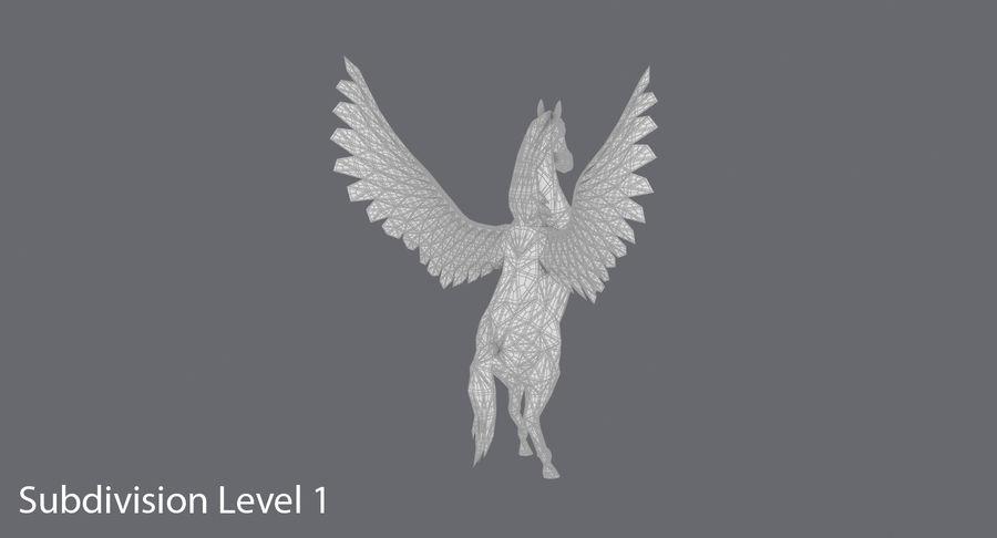 ペガサス飼育 royalty-free 3d model - Preview no. 17