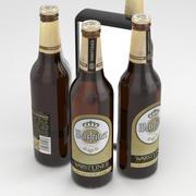 Beer Bottle Warsteiner Premium Verum 500ml 3d model