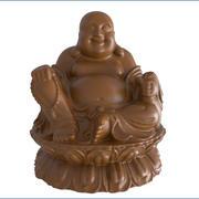 Glücklicher Buddha bereit zu drucken 3d model