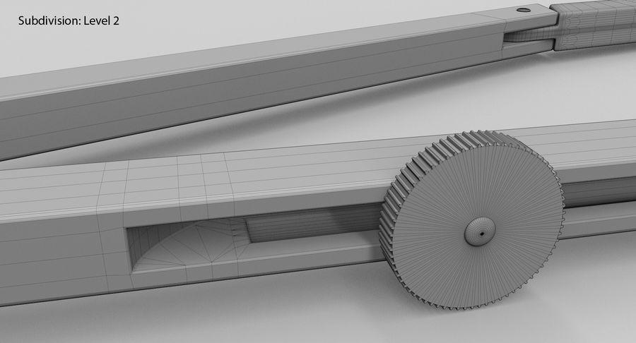 Opstellen kompas royalty-free 3d model - Preview no. 20