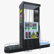 Petrol Pump 3d model