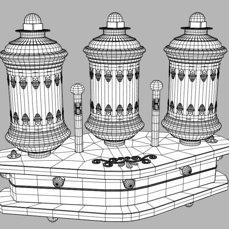 Lâmpadas Steampunk royalty-free 3d model - Preview no. 11