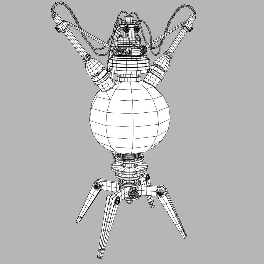 Lâmpadas Steampunk royalty-free 3d model - Preview no. 8