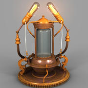 Steampunk-lampor 3d model