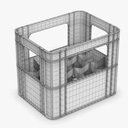 Caja de plástico modelo 3d