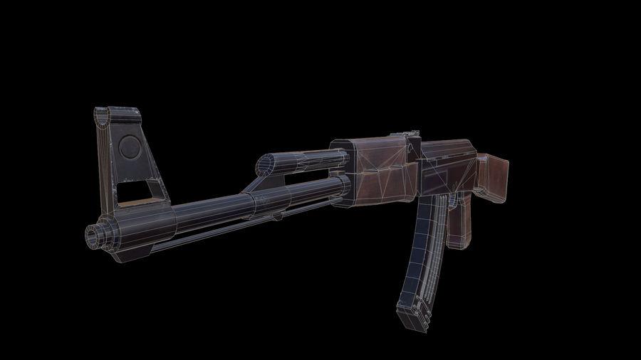 ak47 royalty-free 3d model - Preview no. 15
