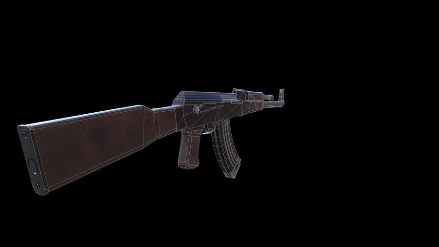 ak47 royalty-free 3d model - Preview no. 13
