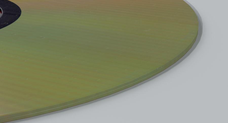 콤팩트 디스크 royalty-free 3d model - Preview no. 7