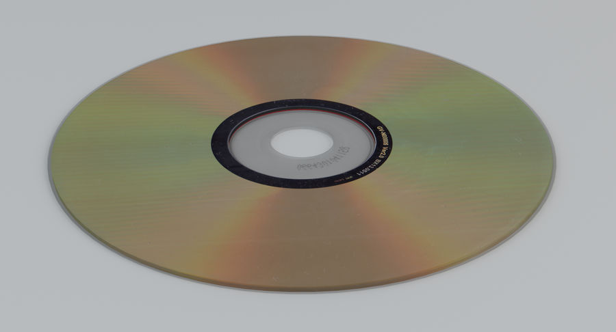 콤팩트 디스크 royalty-free 3d model - Preview no. 9