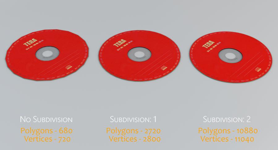 콤팩트 디스크 royalty-free 3d model - Preview no. 1