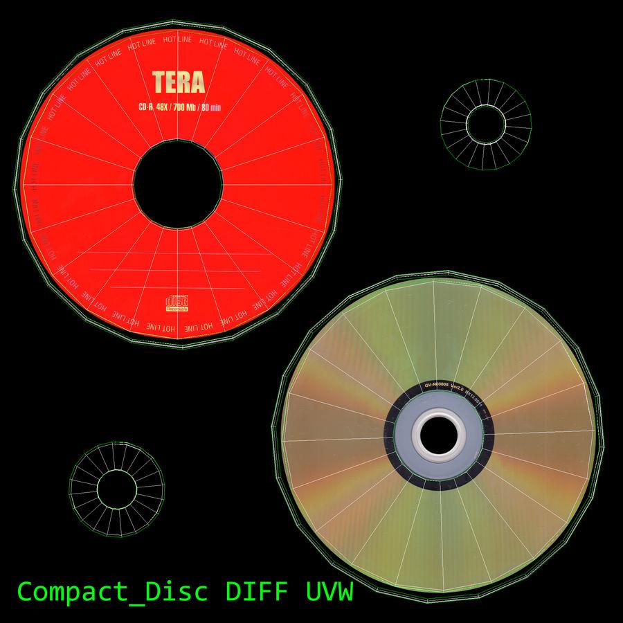 콤팩트 디스크 royalty-free 3d model - Preview no. 2