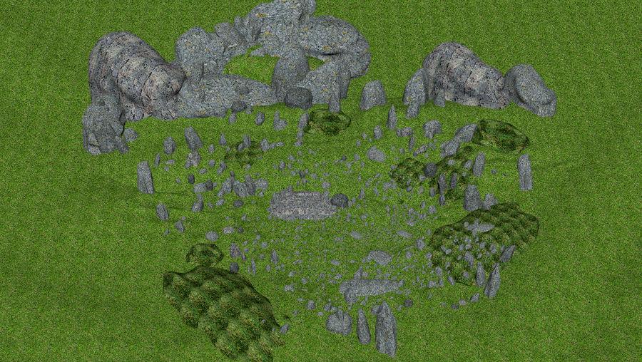 Mountain Rock Landscape royalty-free 3d model - Preview no. 9