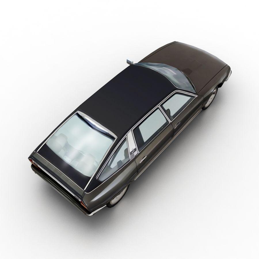Citroen CX 1974 royalty-free 3d model - Preview no. 6