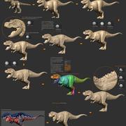 Trex-Dino modelo 3d