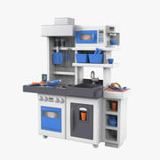 Little Tikes Toy Kitchen 3d model
