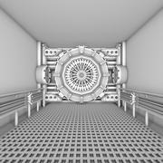Interior da ficção científica 3d model