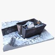 Mülleimer PBR Scan 3d model