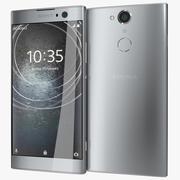 Sony Xperia XA2 Prateado 3d model
