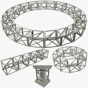 Truss Collection 3d model