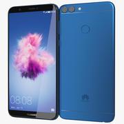 华为P Smart / 7s享受蓝色 3d model