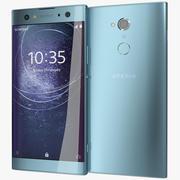 索尼Xperia XA2 Ultra Blue 3d model