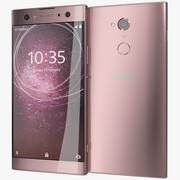 Sony Xperia XA2 Ultra Pink 3d model