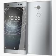 Sony Xperia XA2 Ultra Silver 3d model
