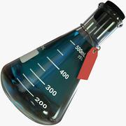 Realistisk vetenskaplig kolv - PBR 3d model