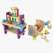 Детские Моделестроительные Комплекты 3d model