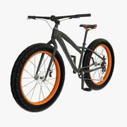 ファットバイク 3d model