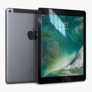 Apple iPad 9.7 (2017) WiFi + Hücresel Alan Gri 3d model