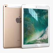 Apple iPad 9.7 (2017) WiFi+Cellular Gold 3d model