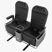 First Class Airplane Chair 04 3d model
