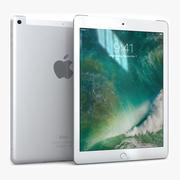 Apple iPad 9.7 (2017) WiFi+Cellular Silver 3d model
