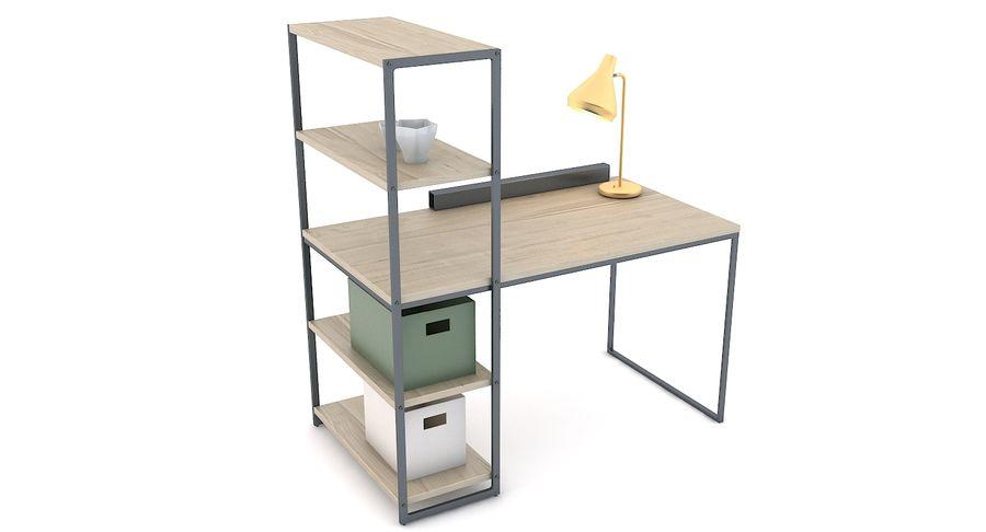 Hiba Office Table 3d Model 39 Unknown Fbx Max Obj Free3d