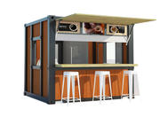 3D Container Coffee Kiosk 3d model