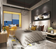 Habitación modelo 3d