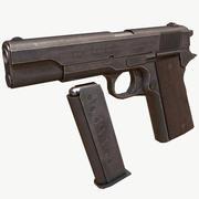 Colt 1911 PBR Low Poly 3d model