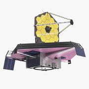 제임스 웹 우주 망원경 3d model
