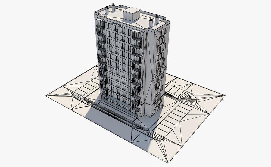 多层建筑_1 royalty-free 3d model - Preview no. 13