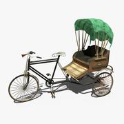 Cycle Rikshaw 3d model