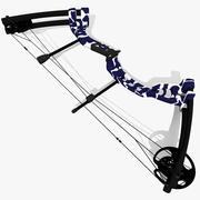 复合弓 3d model