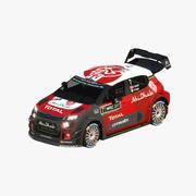 Citroen C3 WRC 2017 3d model