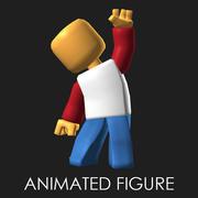 Animated Mini-Figure 3d model