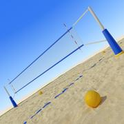Beach Volley 3d model