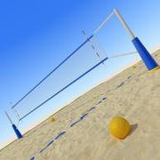 Beach Volley 3d model