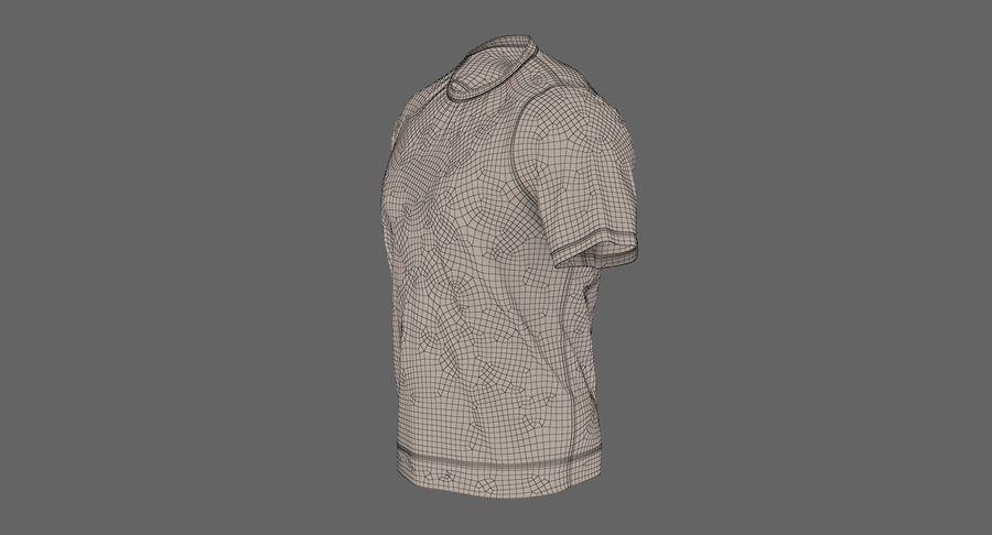 Czarny t-shirt royalty-free 3d model - Preview no. 27