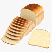 Sliced Bread Loose and Toast Collection 3d model